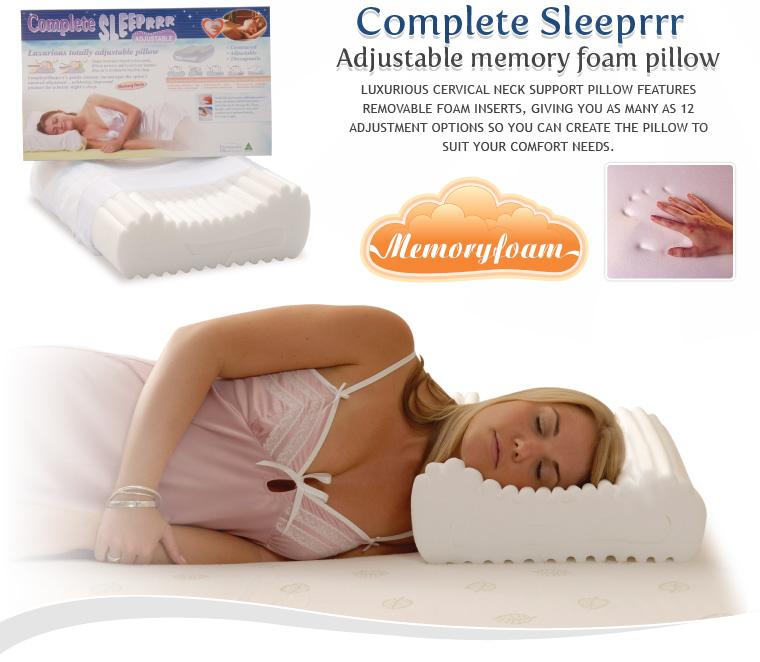 Complete Sleeper Memory Foam Original City Cpap